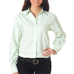 Ladies Varsity Check Dress Shirt