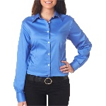 Ladies Solid Sateen Woven