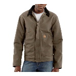 Sandstone Dearborn Jacket, Sherpa Lined