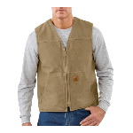 Sandstone Rugged Vest, Sherpa Lined