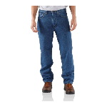 Relaxed Fit Jean, Straight Leg, Fleece Lined