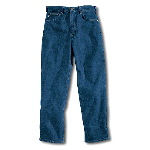 Relaxed Fit Jean, Straight Leg