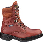 "Mens Working Boot, Wolverine 8"" DuraShocks SR Direct Attach, Lined"