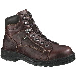 "Mens Working Boot, Wolverine 6"" Exert DuraShocks Slip Resistant, Opanka"