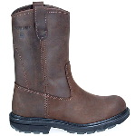 "Men�s 10"" Wellington Slip Resistant Steel Toe Electrical Hazard Safety Boot"
