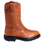 "Men�s Herrin 10"" Slip Resistant Steel Toe EH Wellington Safety Boot"