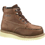 "Men�s Moc-Toe Wedge Heel 6"" Working Boot"