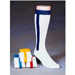 Socks, Alleson 2 in 1 Baseball Over-Calf Socks, 8-10 Shoe Size