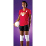 Squared Drop Neck Womens Volleyball Jersey