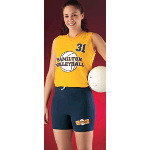 Womens Racer Back Sleeveless Volleyball Jersey