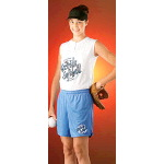 "5"" Inseam Womens Mesh Softball Short"