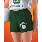 50/50 Poly/Cotton Womens Volleyball Short