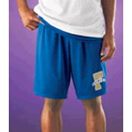 "Adult Heavy-Duty 9"" Nylon Mesh Shorts"