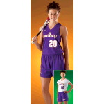 Liner White Only Womens Softball Short