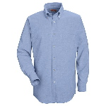Mens 60/40 Oxford L/S Executive Button Down Shirt