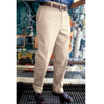 Mens 100% Cotton Wrinkle Resistant Work Pant