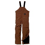 Premium Insulated Duck Bib Overall, Waist Zip