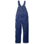 Denim Bib Overall, High Back