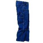 Indigo Denim Logger Dungaree, Enzyme Washed
