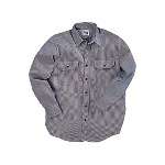Logger Shirt, Hickory Stripe, Button Front, Long Sleeve