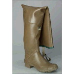 "Rubber Boot, Mens 34"" Straight Top Hip Boots"
