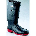 "Rubber Boot, 15"" Steel Toe Knee Working Boot"