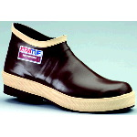 "Rubber Boot, 6"" Neoprene Plain Toe Working Boot"