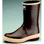 "Rubber Boot, 12"" Neoprene Plain Toe Working Boot"