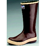 "Rubber Boot, 15"" Neoprene Plain Toe Working Boot"