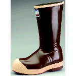 "Rubber Boot, 15"" Insulated Neoprene Steel Toe Working Boot"