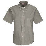 Womens 60/40 Oxford S/S Executive Button Down Shirt