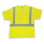 Mens Short Sleeve High Visibility T-Shirt