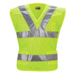 Mens Hi-Visibility Breakaway Safety Vest, Police-Printed