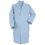 Mens Gripper Front Red Kap Lab Coat