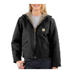 Womens Sandstone Sierra Jacket/Sherpa-Lined