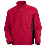 Mens Two-Tone Microfiber Jacket