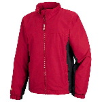 Ladies Two-Tone Microfiber Jacket