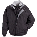 Mens 3-in-1 Systems Jacket with Zip In/Out Vest