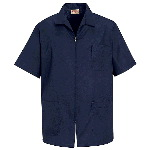 Mens Zippered Smock