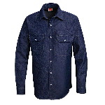 100% Cotton Denim Western Shirt