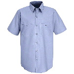 Mens Short Sleeve Work NMotion� Shirt