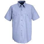 Mens Short Sleeve Work NMotion� Shirt