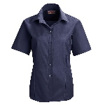 Womens Short Sleeve Work NMotion Blouse