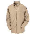Button Front Dress Uniform Shirt - HRC1