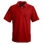 Performance Polyester Solid Short Sleeve Polo
