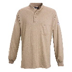 Long Sleeve Henley Shirt - HRC1