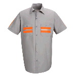 Short Sleeve Enhanced Visibility Work Shirt