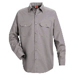 Mens Long Sleeve Utility Work Shirt