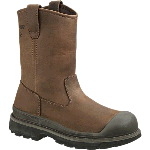 "Mens Crawford All Weather Welt Waterproof Steel Toe 10"" Wellington EH Safety Boot"