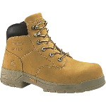 "Mens Harrison Waterproof Slip Resistant 6"" Steel Toe Lace-Up EH Safety Boot"